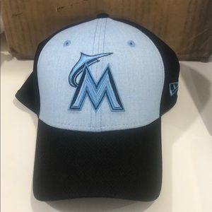 New Era Florida Marlins Dri Fitted Hat